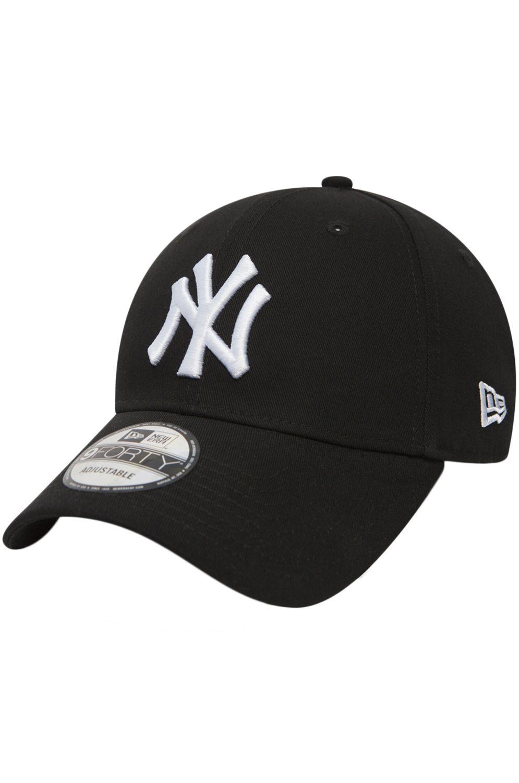 New Era Cap   940 LEAGUE BASIC NEW YORK YANKEES Black/Optic White