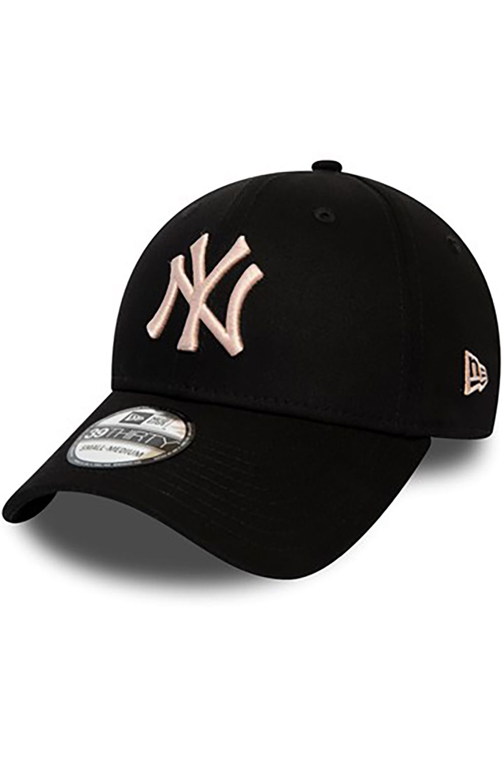 Bone New Era LEAGUE ESSENTIAL 39THIRTY Black/Blush Sky