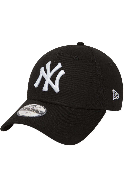 Bone New Era K 940 MLB LEAGUE BASIC NEYYAN Black/Wheat