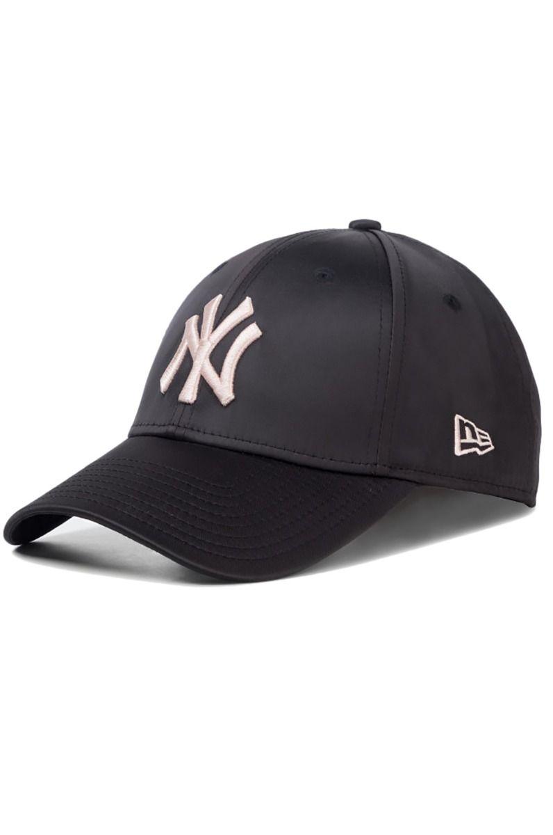 New Era Cap   FEMALE MLB SATIN 9FORTY Black/Blush Sky