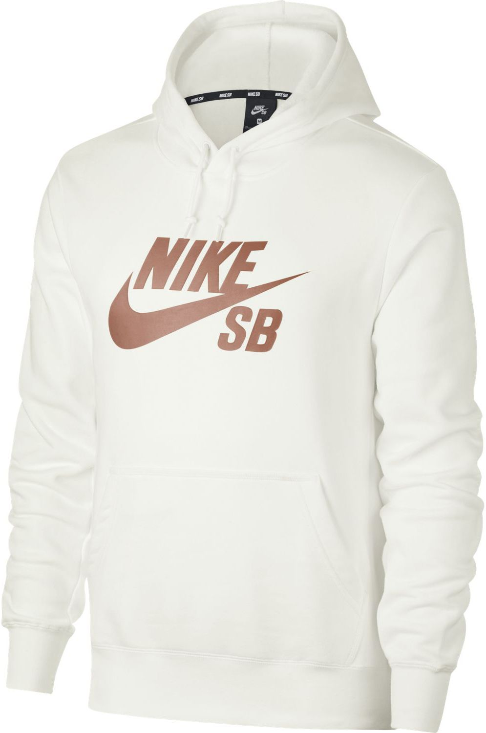 Details about Brand New Mens Nike SB Icon Hoodie Summit White Rose Gold