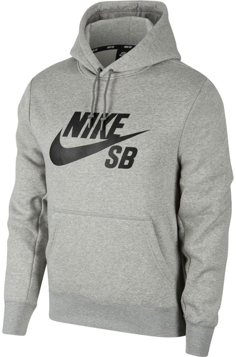 Nike Sb Sweat Hood ICON Dk Grey Heather/Black