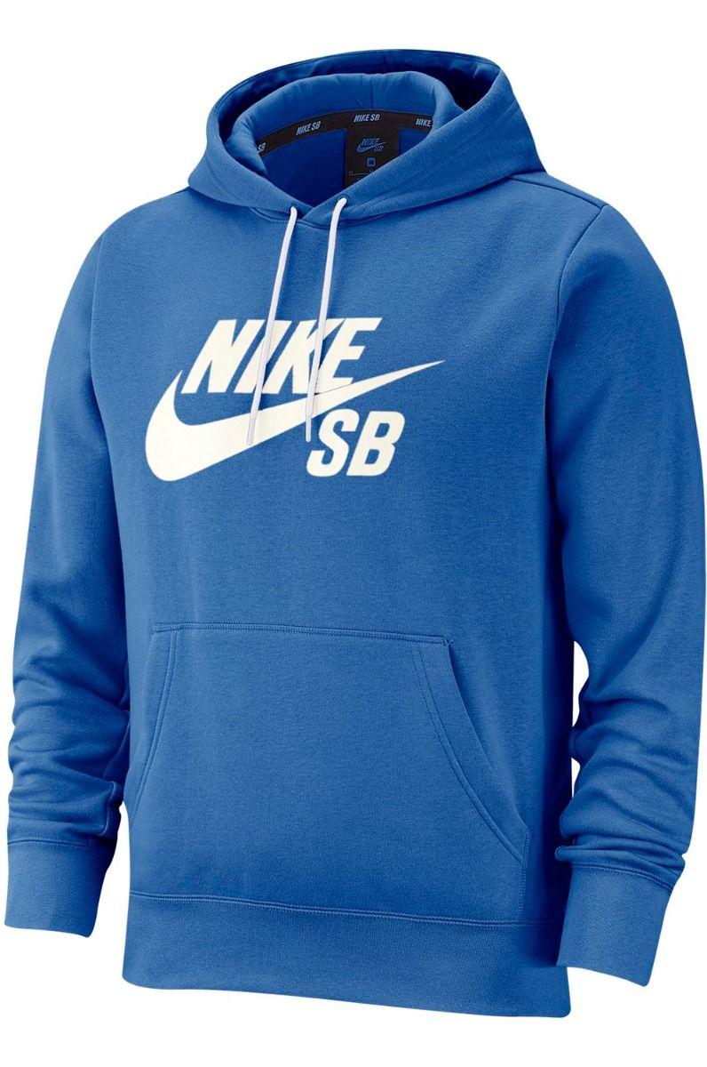 Nike Sb Sweat Hood ICON Pacific Blue/Sail
