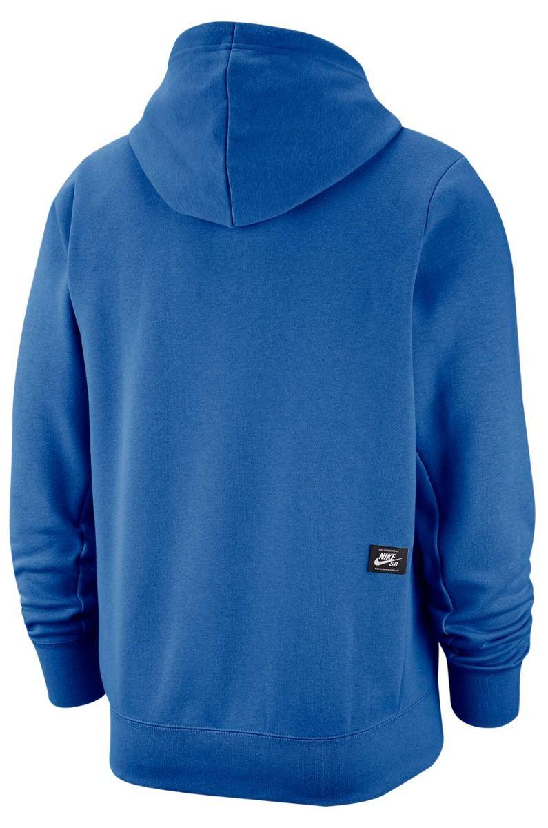 Sweat Capuz Nike Sb ICON Pacific Blue/Sail