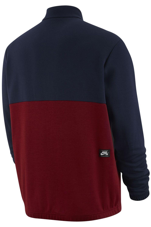 Nike Sb Coat DRY JACKET TRACK Obsidian/Team Red/Summit White/(Team Red)
