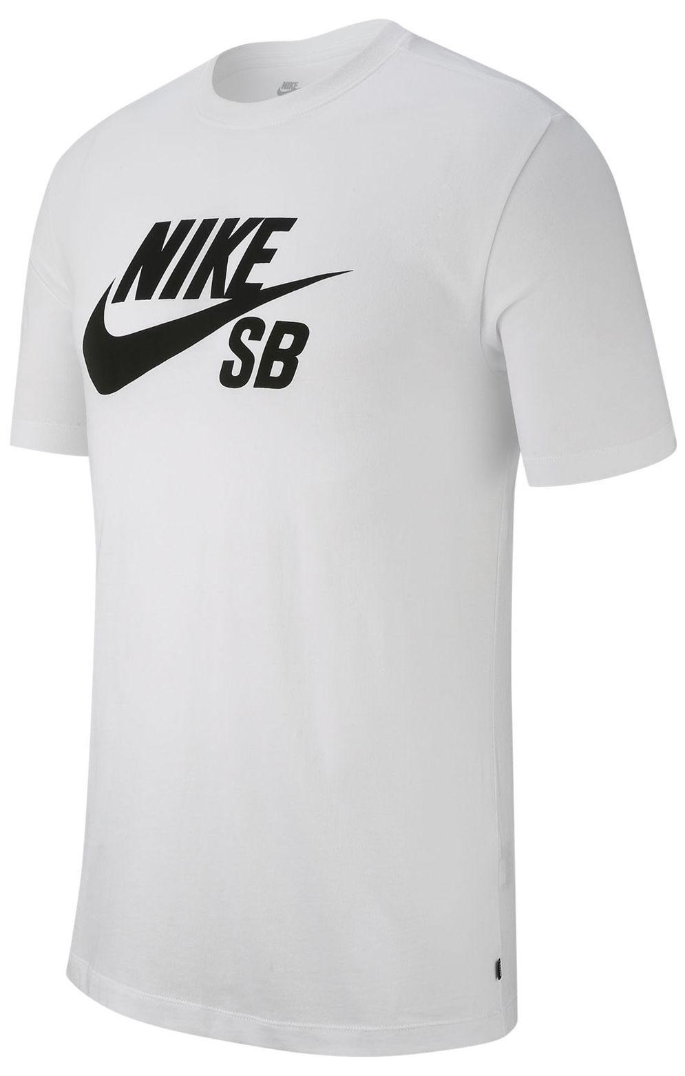 T-Shirt Nike Sb DRY DFCT LOGO White/(Black)