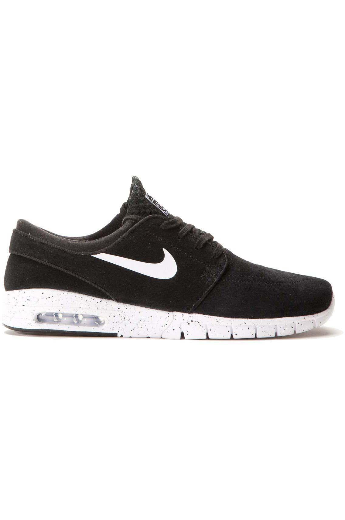 Nike Air SB Stefan Janoski Max (GS) Sneaker BlackWhite