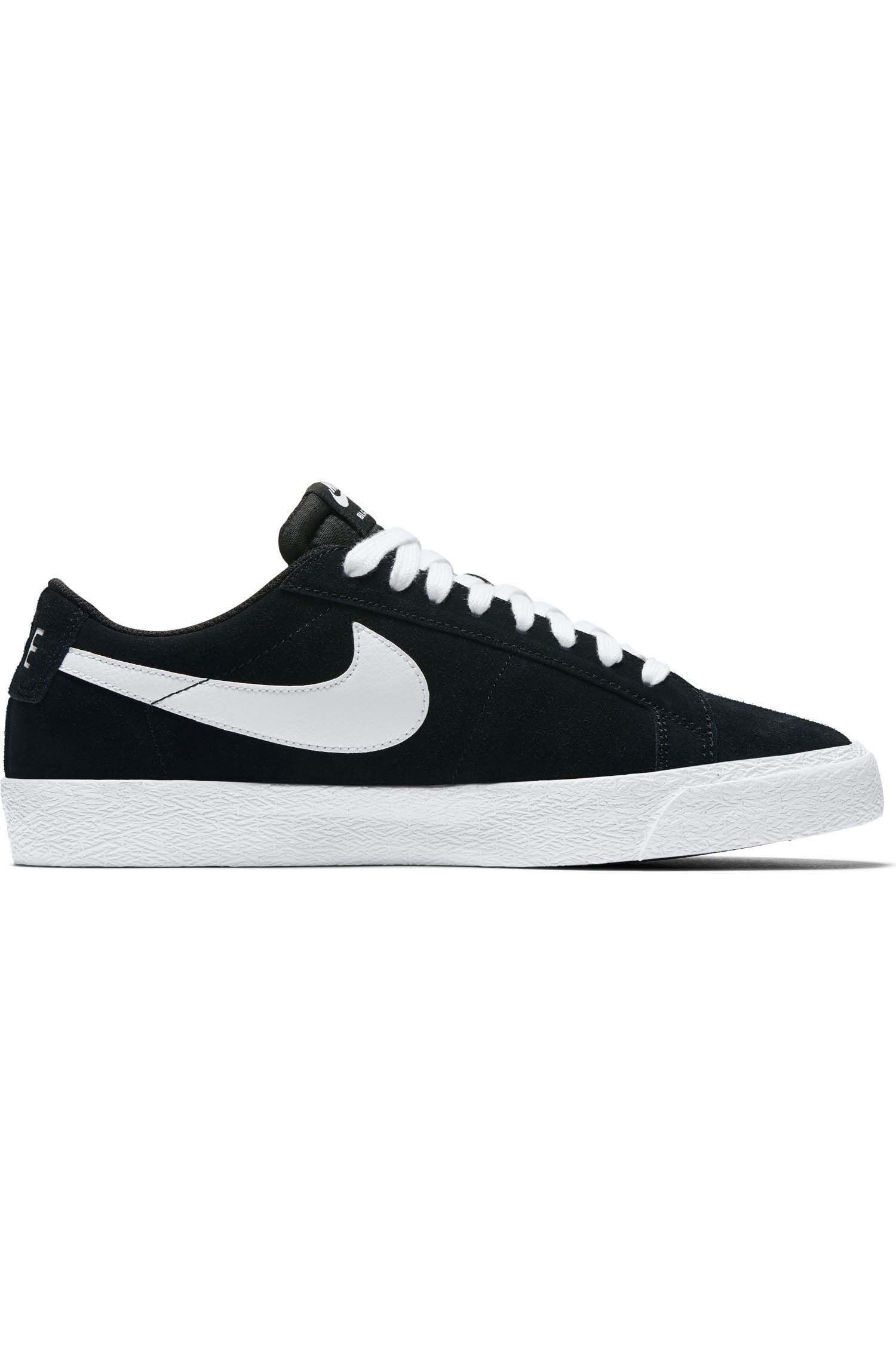 Tenis Nike Sb ZOOM BLAZER LOW Black/White-Gum Lt Brown