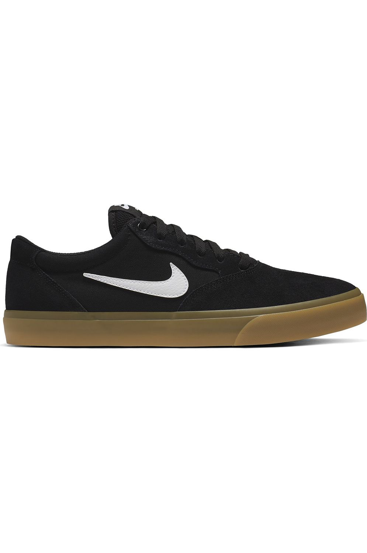Tenis Nike Sb CHRON SOLARSOFT Black/White-Black-Black