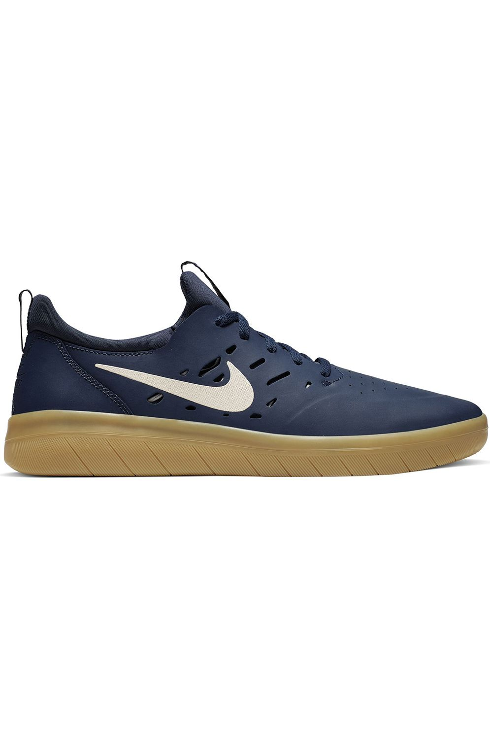 Tenis Nike Sb NYJAH FREE Midnight Navy/Summit White-Midnight Navy-Gum Lt Brown