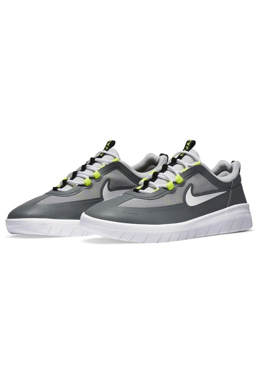 Tenis Nike Sb NYJAH FREE 2 Smoke Grey/White-Lt Smoke Grey