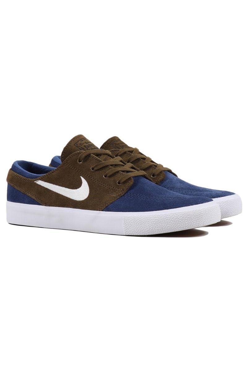 Tenis Nike Sb NIKE SB ZOOM JANOSKI RM Mystic Navy/Sail-Yukon Brown-White