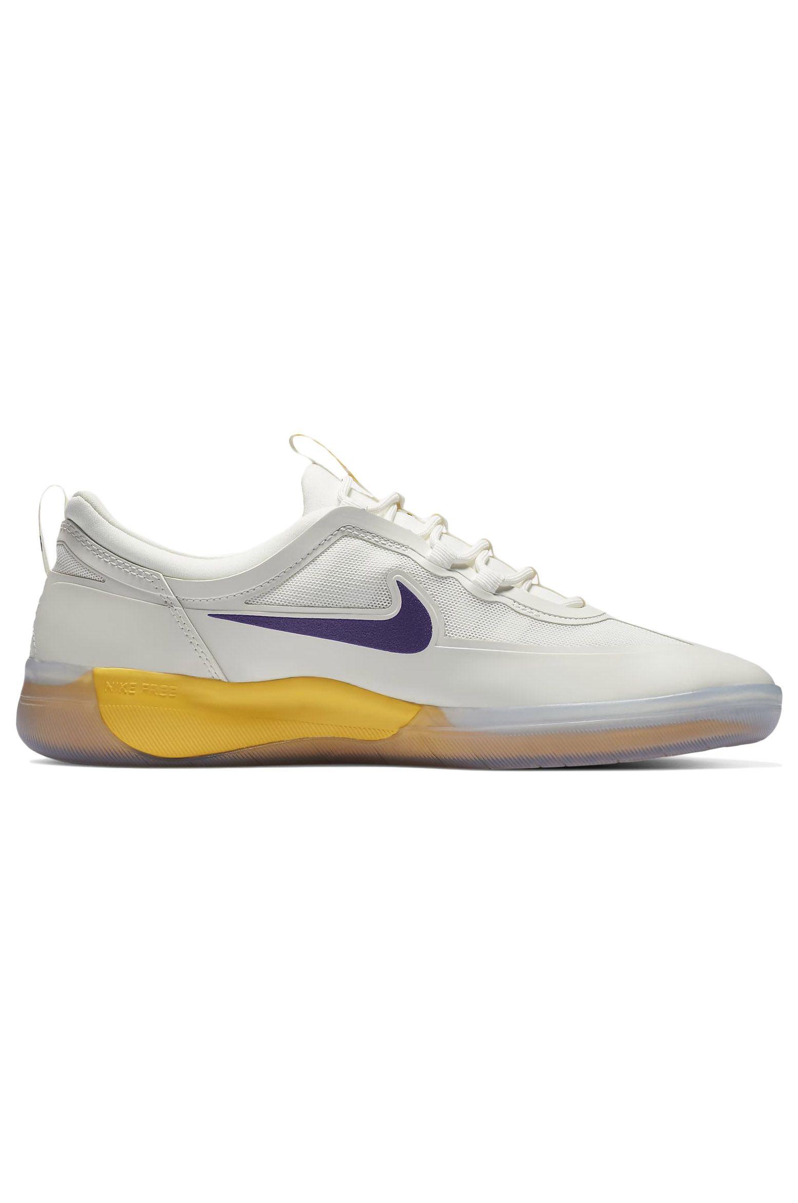 Nike Sb Shoes NIKE SB NYJAH FREE 2 NBA Summit White/Court Purple-Amarillo-Summit White