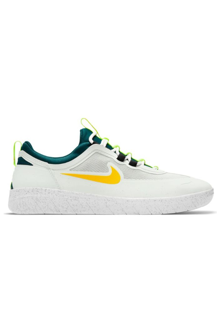 Tenis Nike Sb NYJAH FREE 2 Summit White/University Gold-Geode Teal