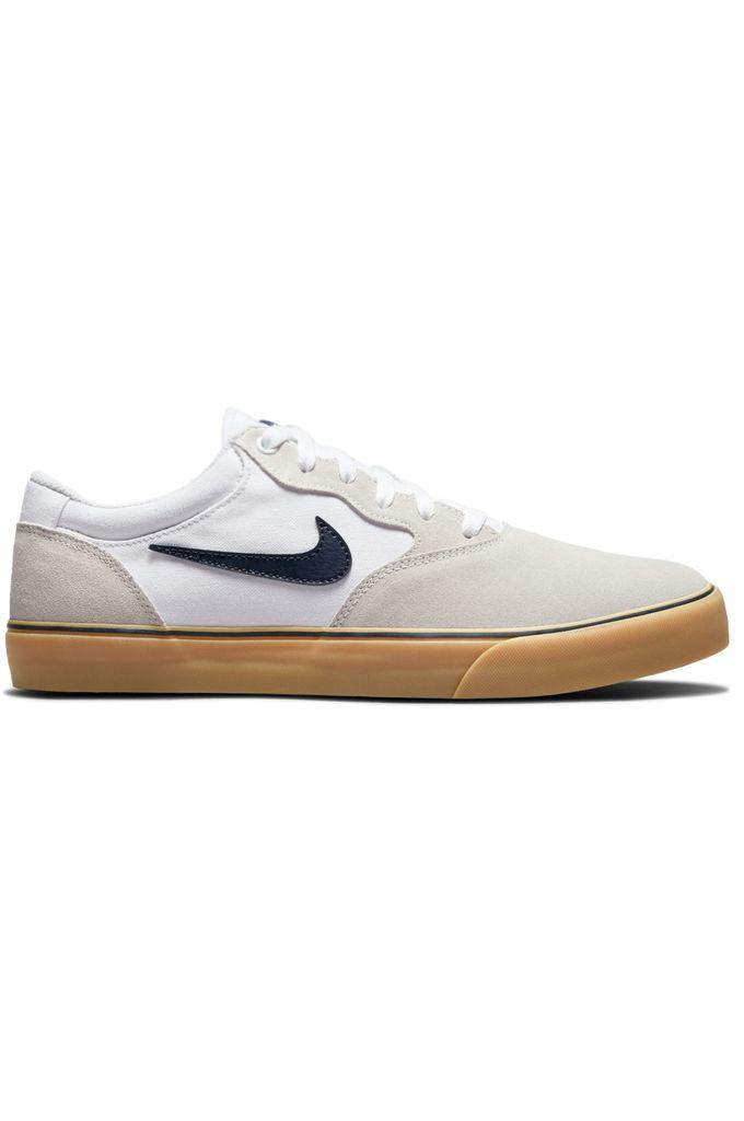 Nike Sb Shoes CHRON 2 White/Obsidian-White-Gum Light Brown
