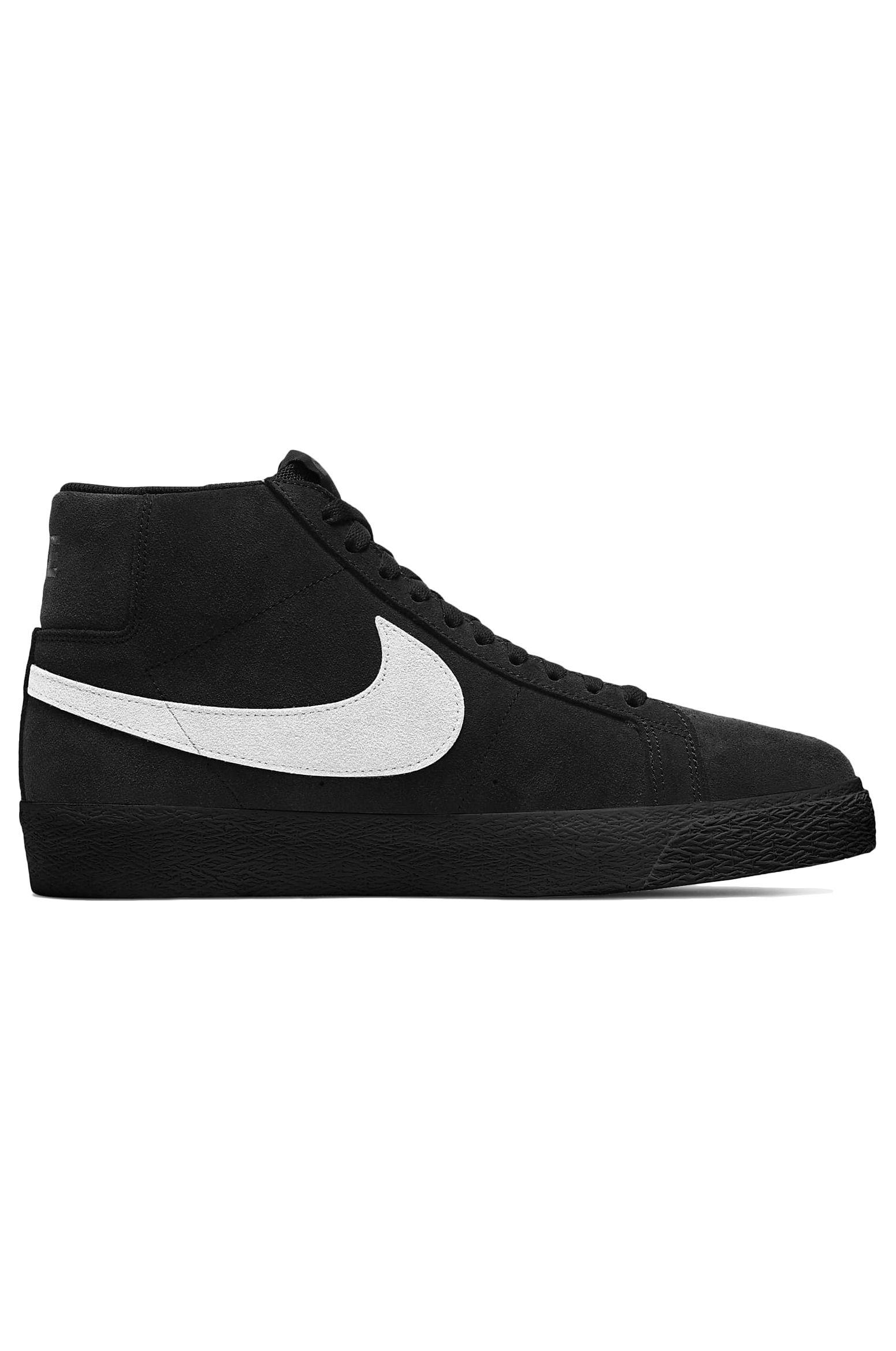 Nike Sb Shoes ZOOM BLAZER MID Black/White-Black-Black