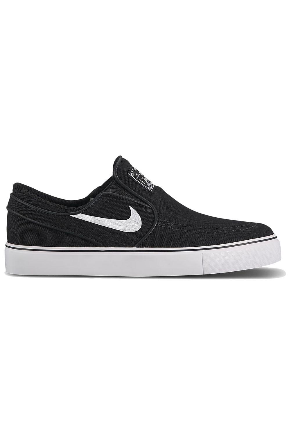 Tenis Nike Sb STEFAN JANOSKI CANVAS SLIP Black/White