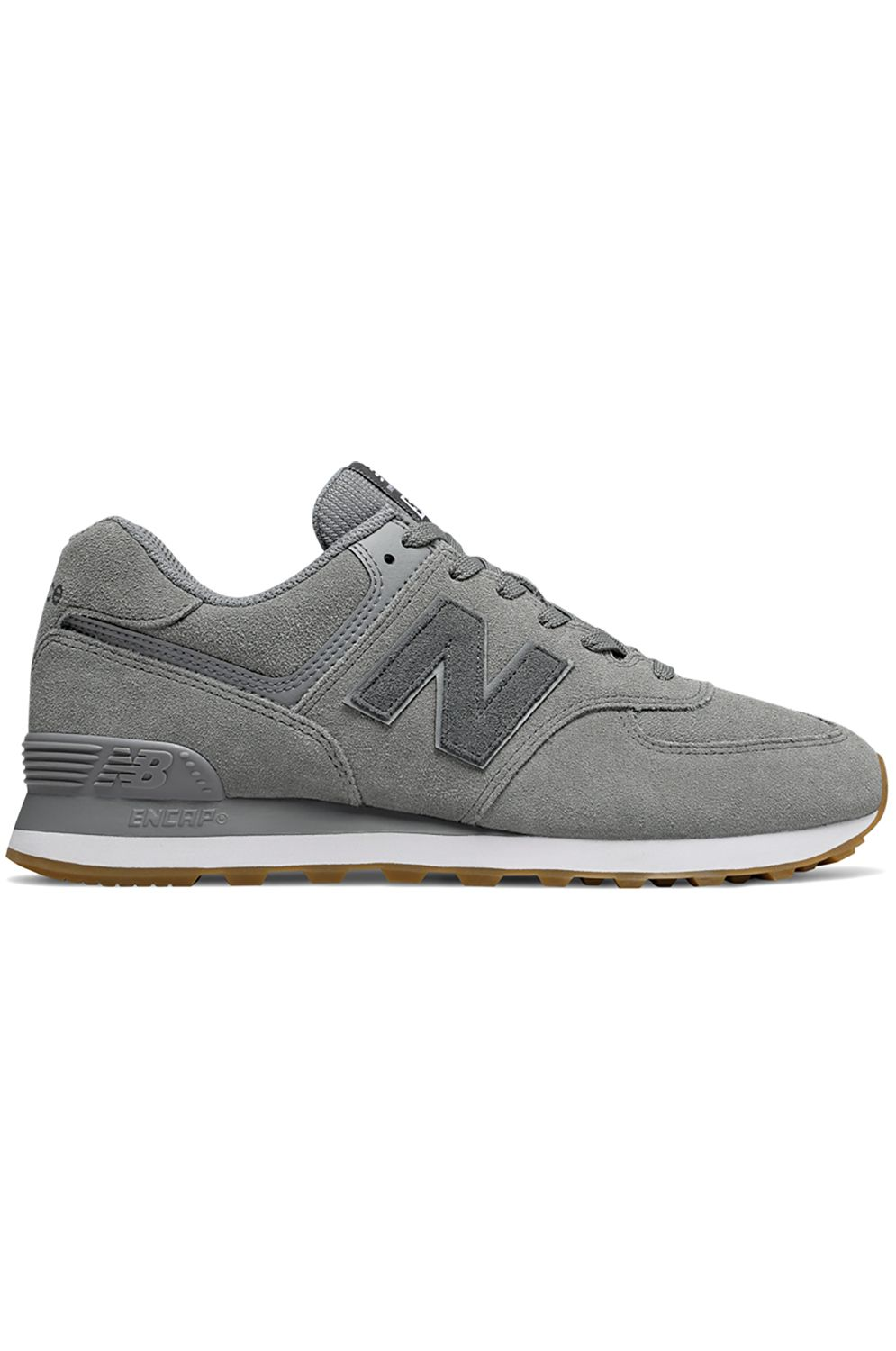 Tenis New Balance ML574 Grey/White