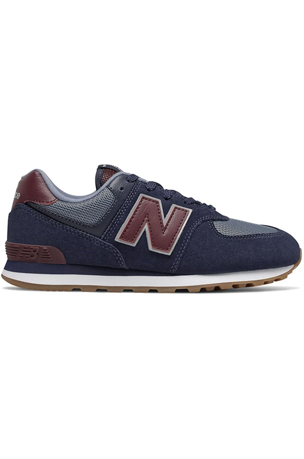 New Balance Shoes 574 CLASSIC KIDS Navy