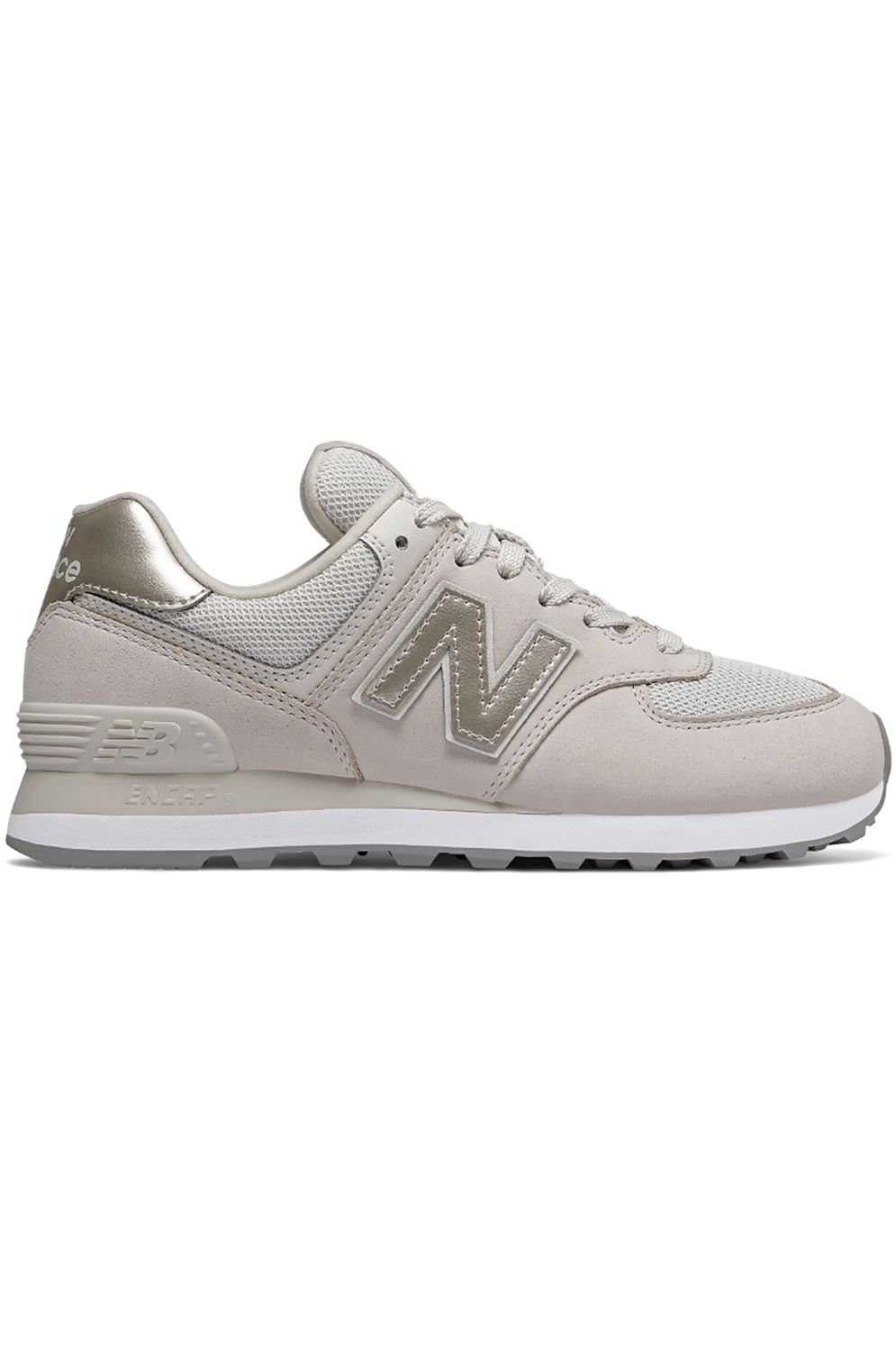 Tenis New Balance WL574 Off White