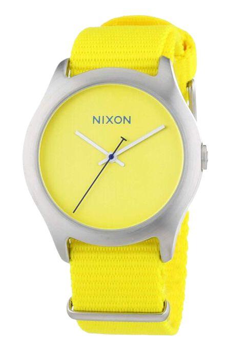 Nixon Watch MOD Bright Yellow