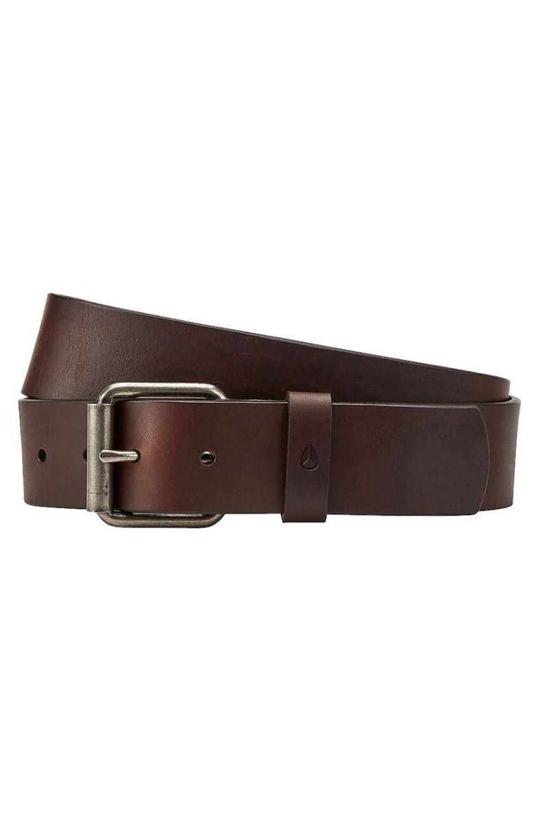 Nixon Leather Belt AXIS Brown