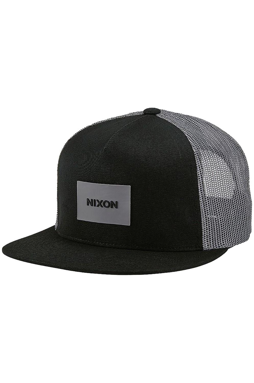 01cc2525ac1ab Bone Nixon TEAM TRUCKER Black Charcoal
