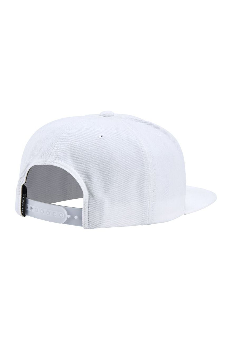 Bone Nixon EXCHANGE SNAPBACK HAT White/Gray