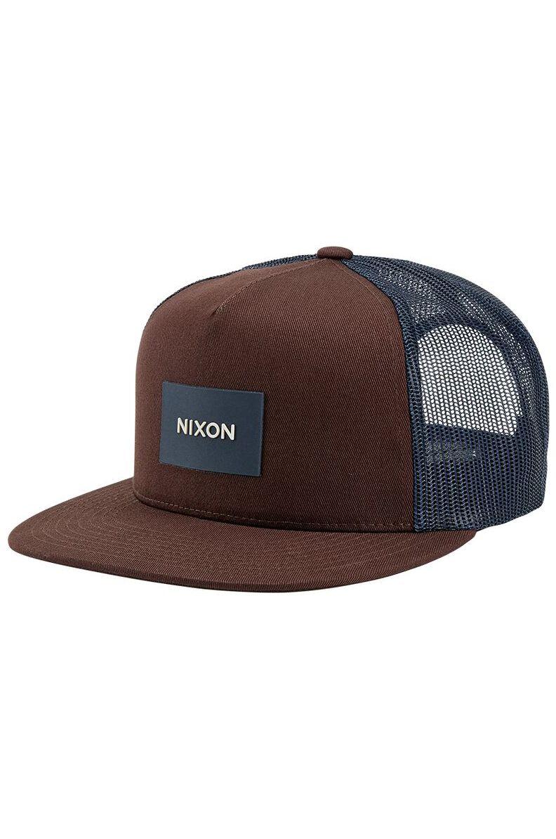 Nixon Cap   TEAM TRUCKER Navy/Brown