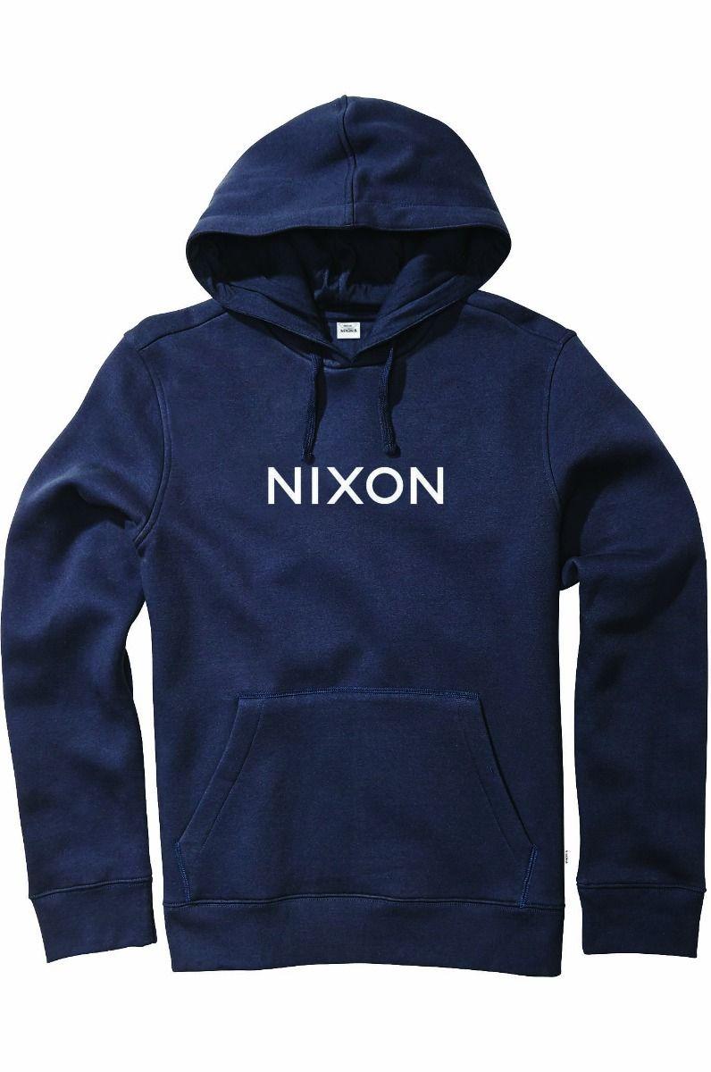 Sweat Capuz Nixon WORDMARK Navy