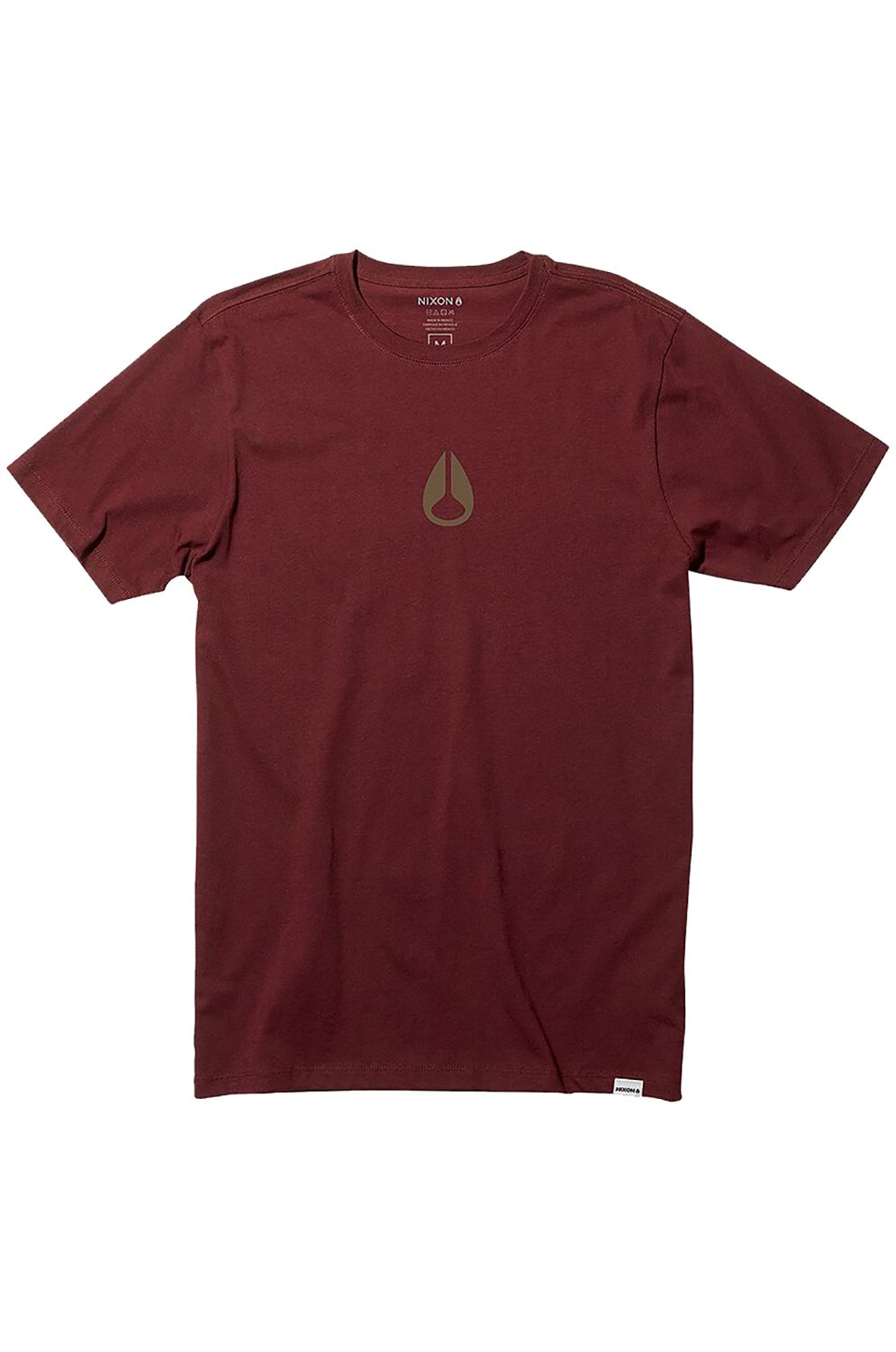 Nixon T-Shirt WINGS II Burgundy