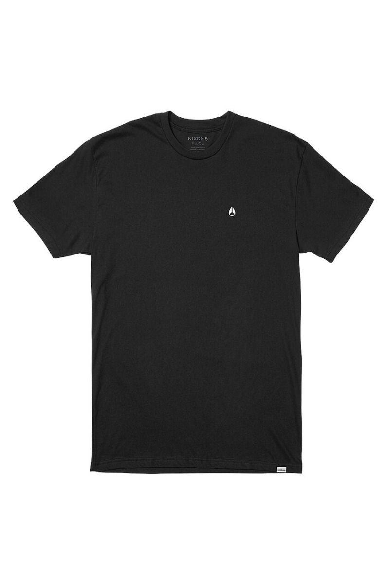 Nixon T-Shirt SPARROW - R S/S TEE Black