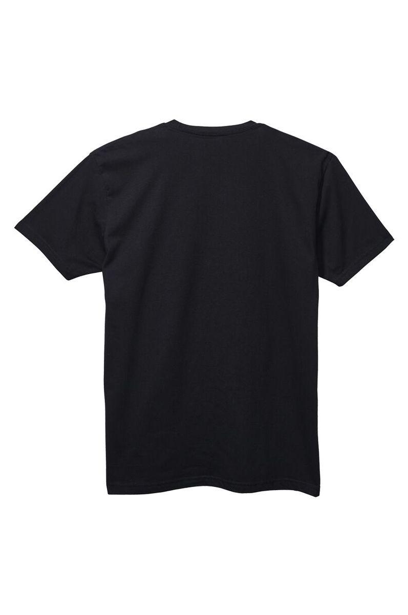 T-Shirt Nixon VIBES S/S TEE Black/White
