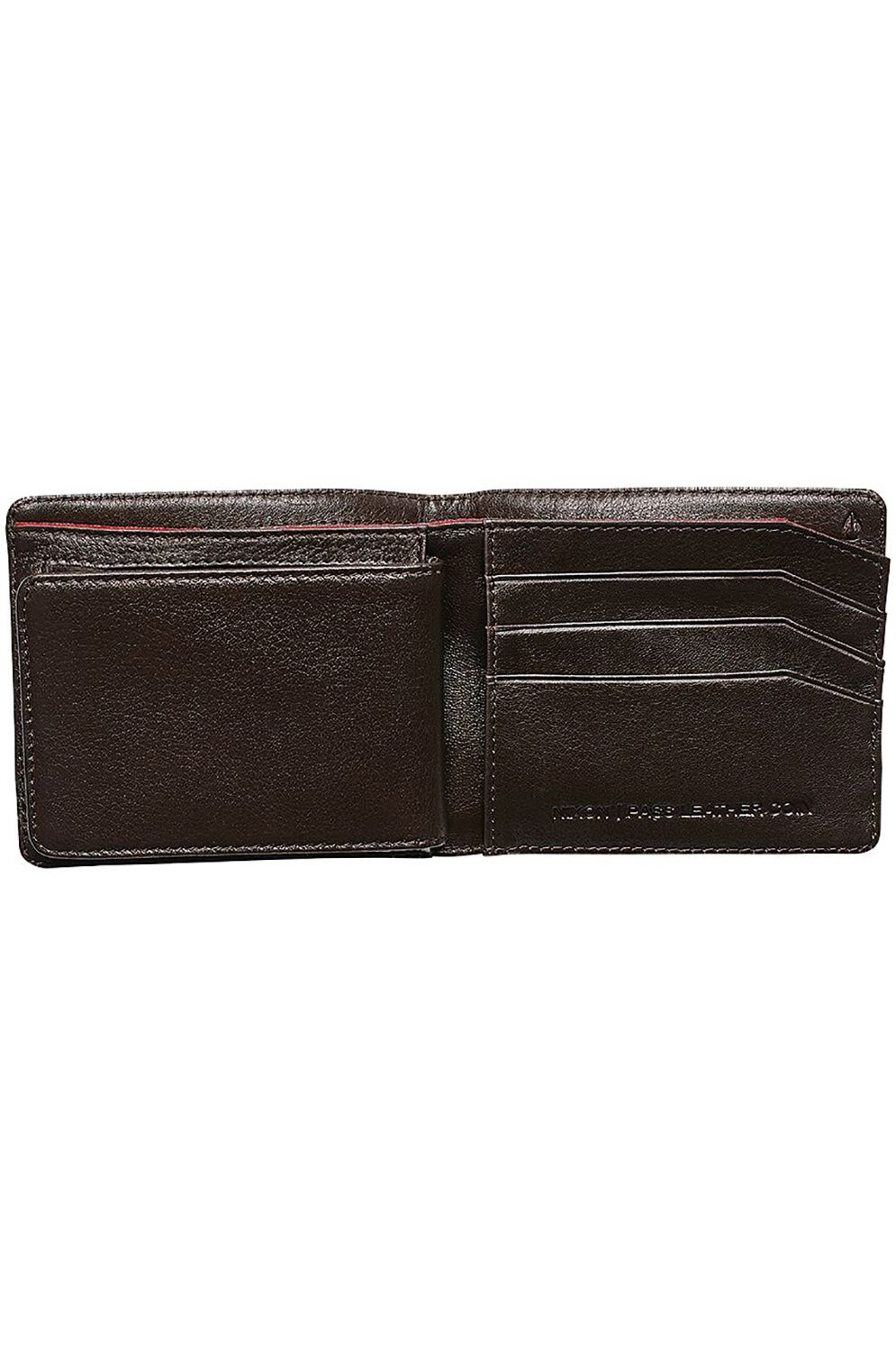 Carteira Pele Nixon PASS LEATHER COIN Brown