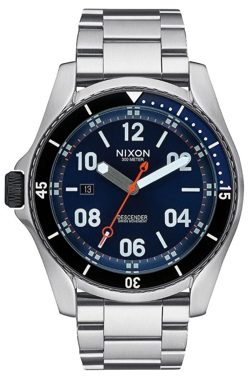 Nixon Watch DESCENDER Blue Sunray