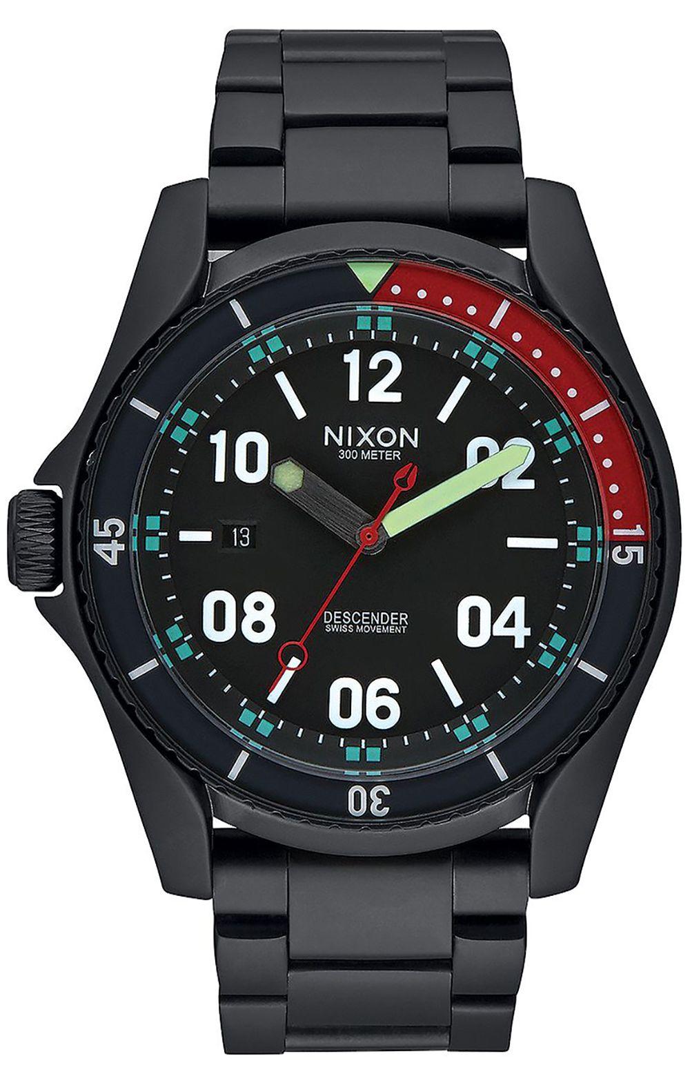 Nixon Watch DESCENDER All Black/Multi
