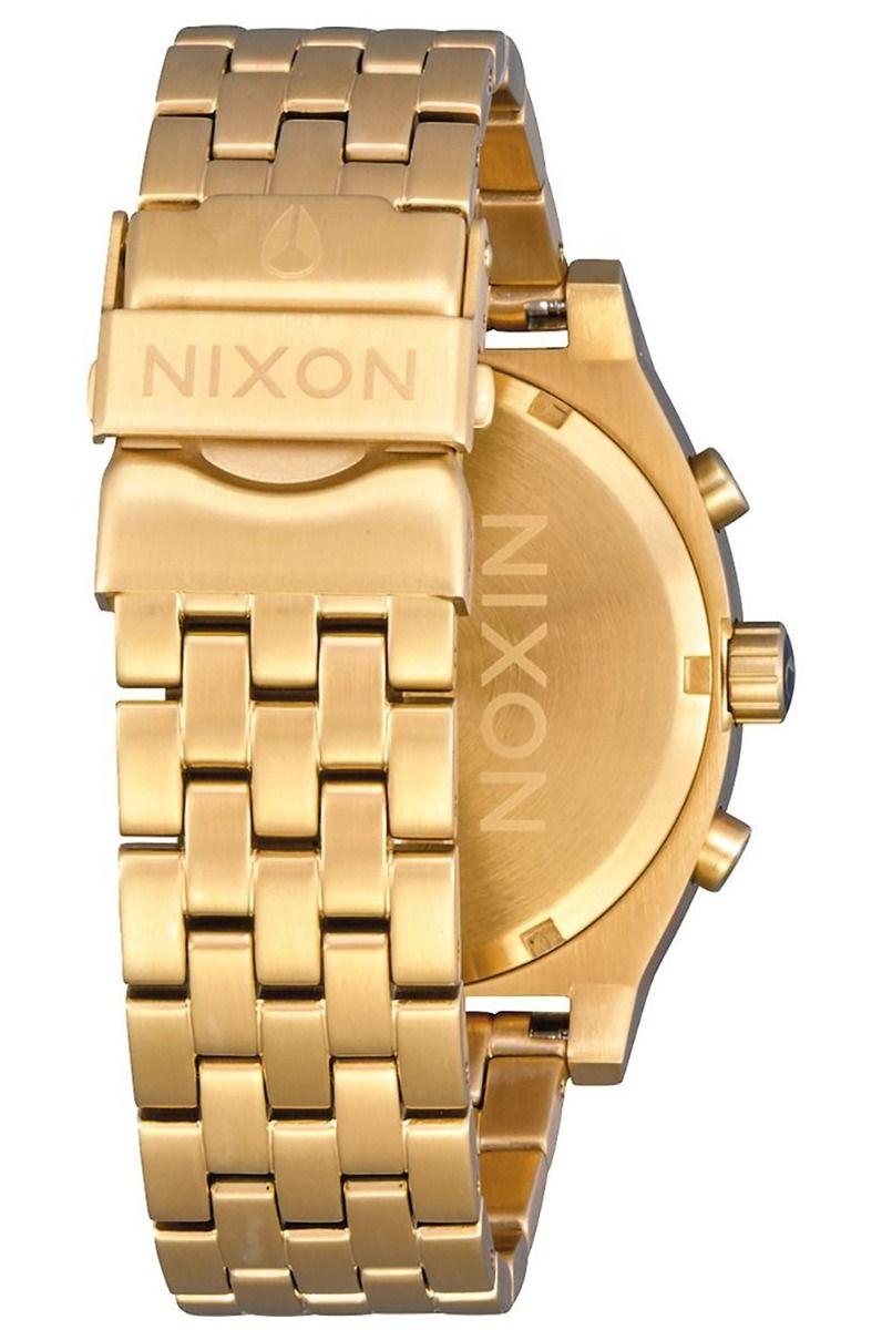 Relogio Nixon TIME TELLER CHRONO All Gold