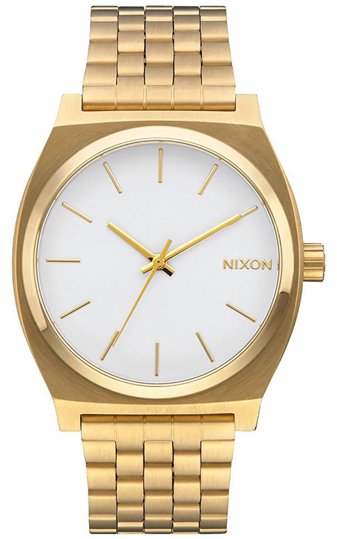 Relogio Nixon TIME TELLER Gold/White
