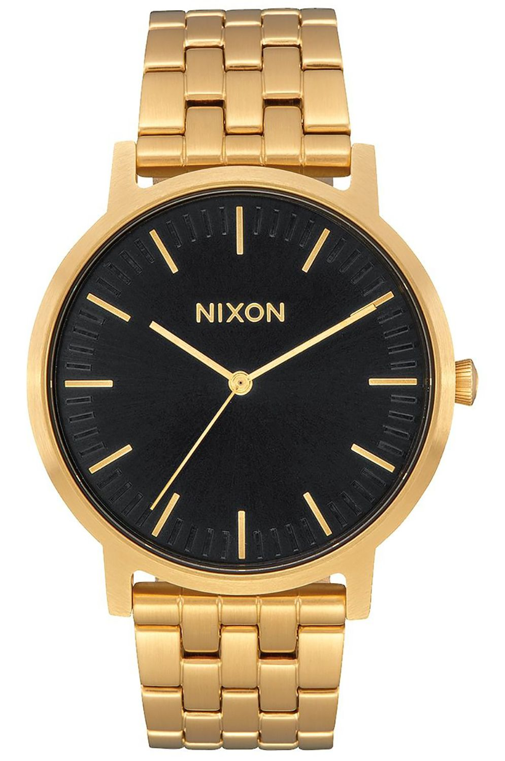 Nixon Watch PORTER All Gold/Black Sunray