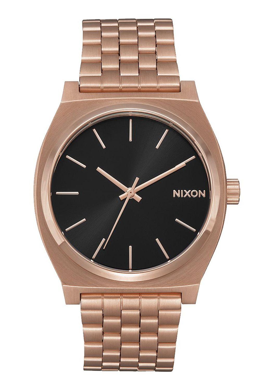 Relogio Nixon TIME TELLER All Rose Gold/Black Sunray
