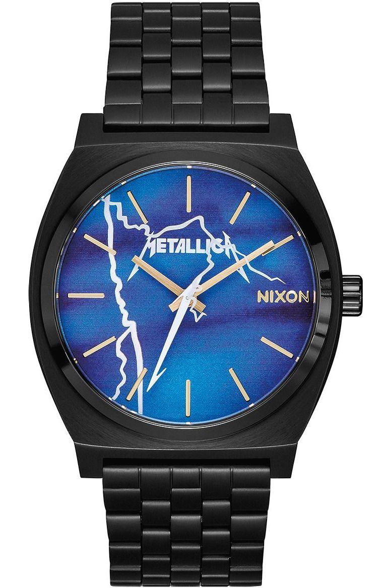 Relogio Nixon vs METALLICA TIME TELLER Black/Ride The Lightning