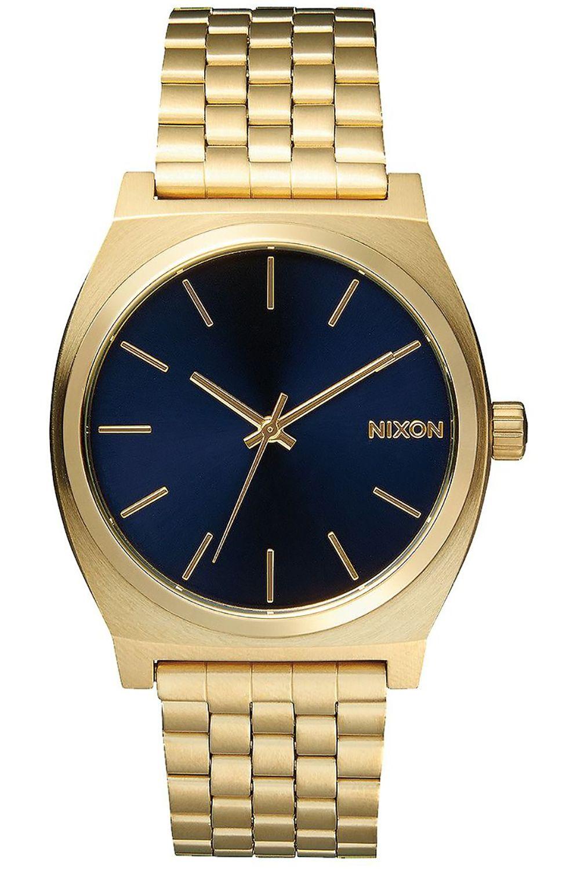 Nixon Watch TIME TELLER Silver/Gold