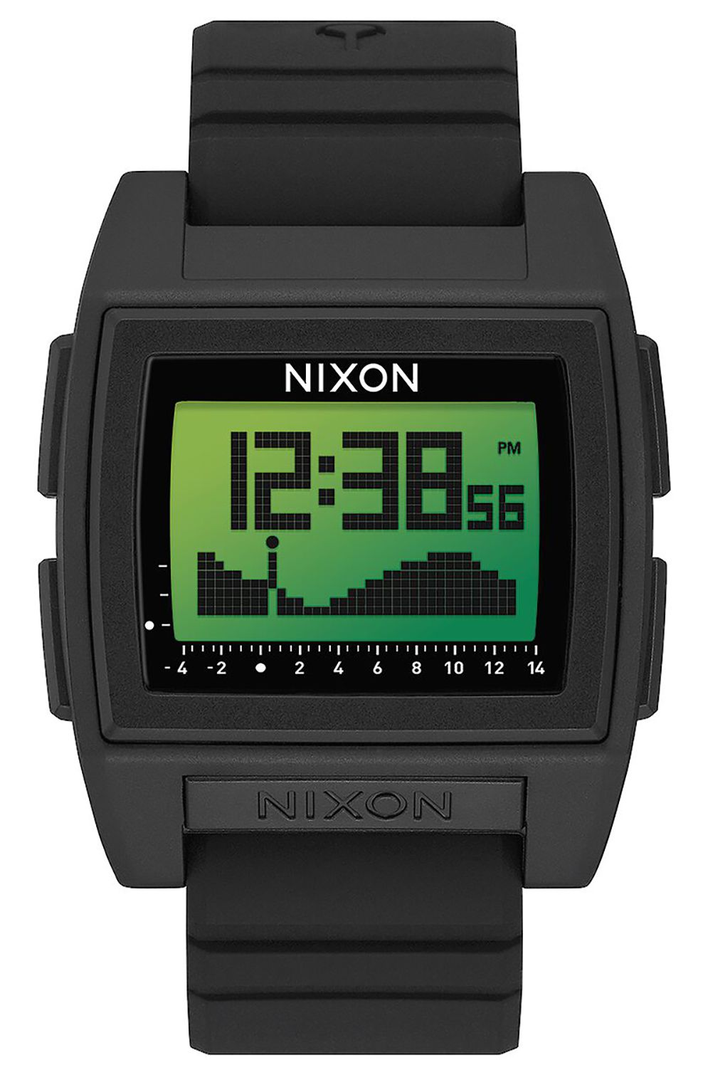 Nixon Watch BASE TIDE PRO Black/Green Positive
