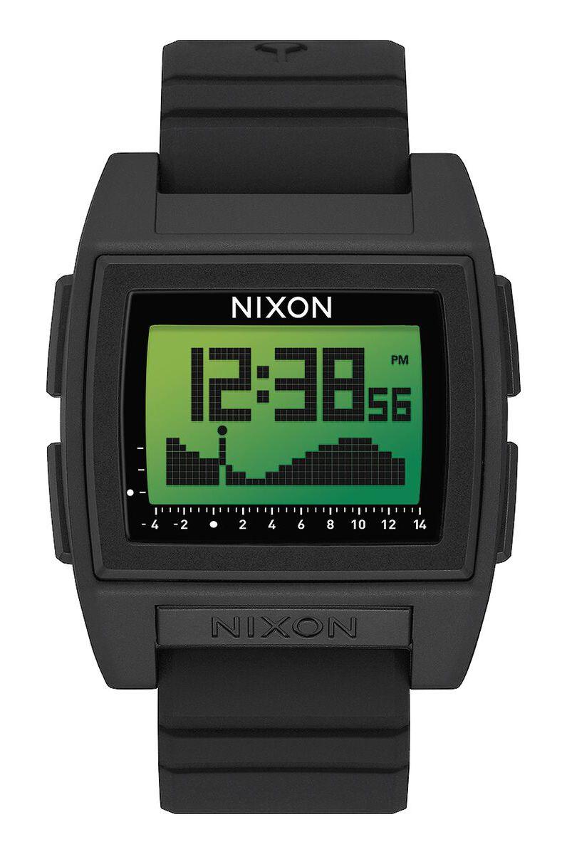 Nixon Watch BASE TIDE PRO Black/Green Positive