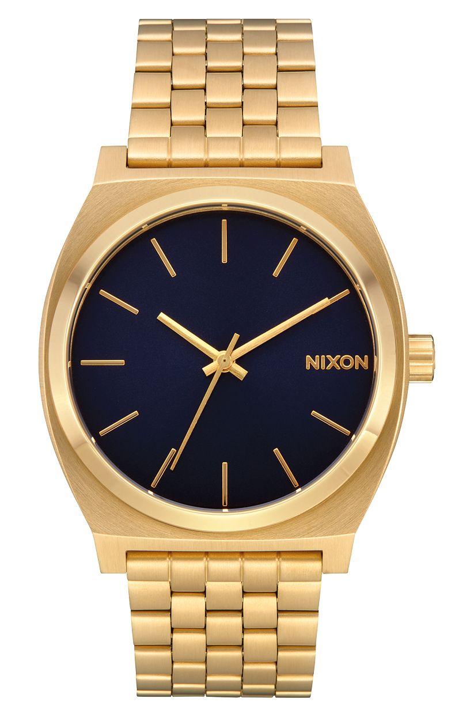 Nixon Watch TIME TELLER Gold/Indigo
