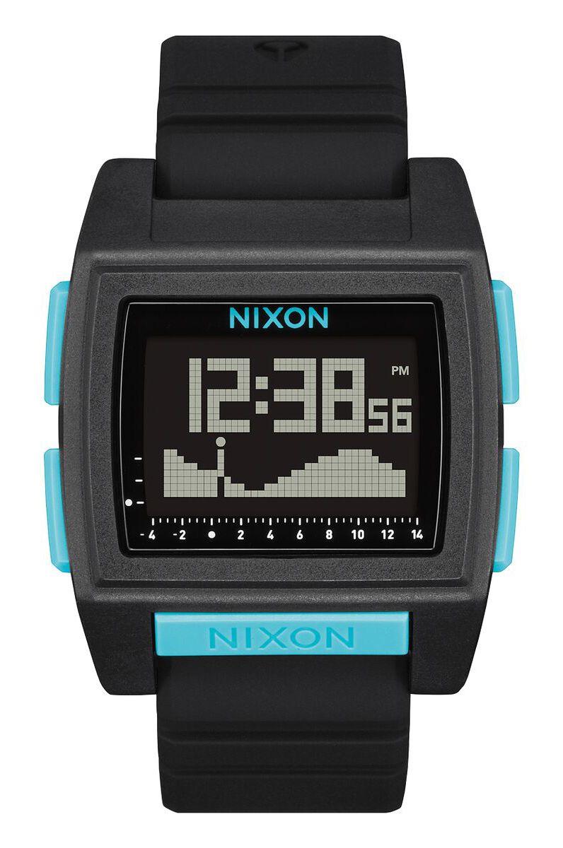 Nixon Watch BASE TIDE PRO All Black/Blue