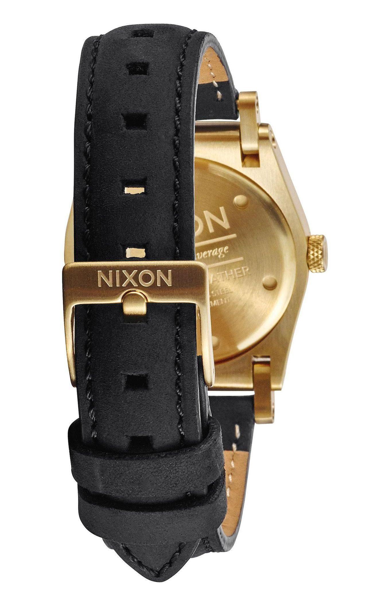 Relogio Nixon JANE LEATHER Gold/Black