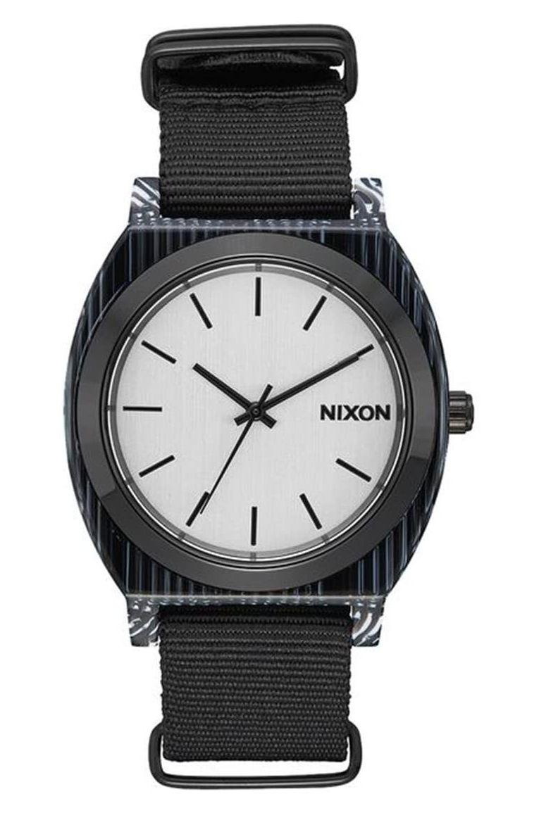Nixon Watch TIME TELLER ACETATE All Black/Silver