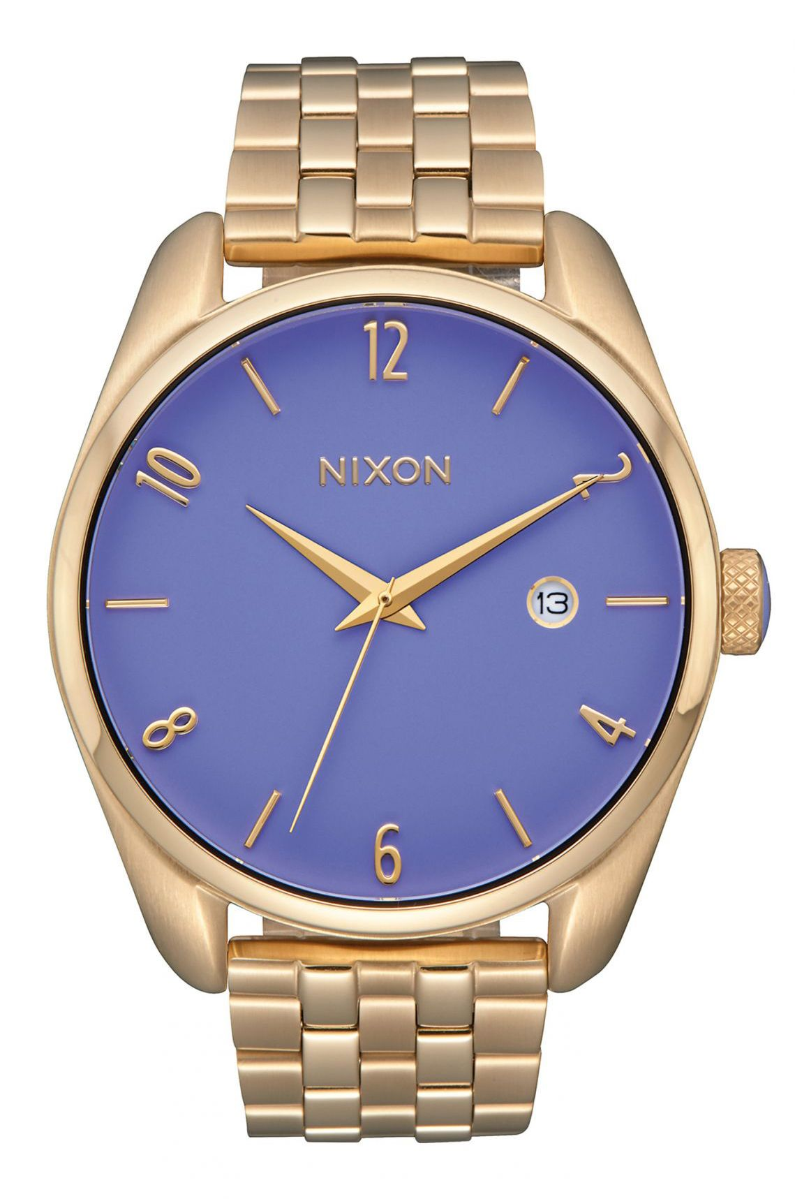 Nixon Watch BULLET Light Gold / Lavender
