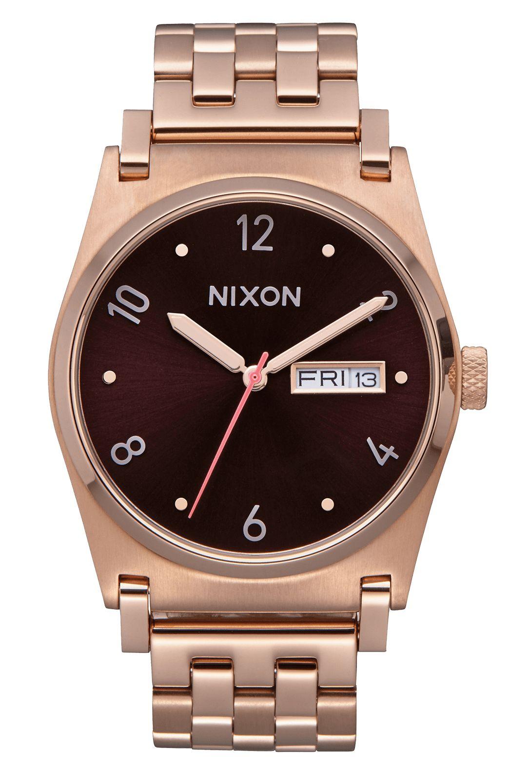 Nixon Watch JANE All Rose Gold/Brown